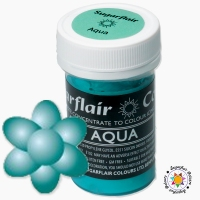 Barwnik Sugarflair Paste Colours - AQUA Pastel 25g