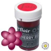 Barwnik Sugarflair Paste Colours - CHERRY RED Pastel 25g