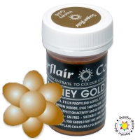 Barwnik Sugarflair Paste Colours - HONEY GOLD Pastel 25g