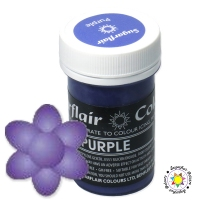 Barwnik Sugarflair Paste Colours - PURPLE Pastel 25g