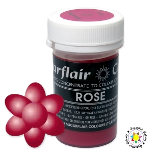 Barwnik Sugarflair Paste Colours - ROSE Pastel 25g
