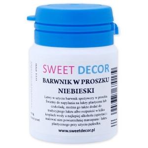 950524950a0f8c Barwnik w proszku niebieski 8g - SweetDecor