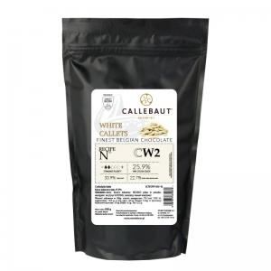 CALLEBAUT Czekolada biała Select 25,9% - 0,5kg