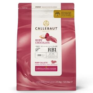 Czekolada Ruby CALLEBAUT 2,5kg