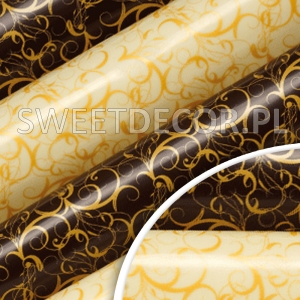 Folia transferowa do czekolady 30x40cm 81364D