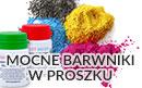 Barwnik w proszku - maksymalny koncetrat koloru