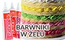 Barwniki w żelu do barwienia mas cukrowych - Colorgel