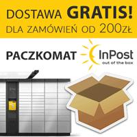 Darmowa dostawa Paczkomat Inpost od 200