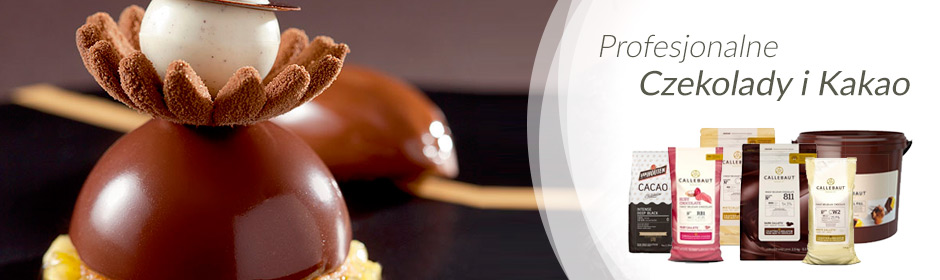 Baner czekolady i kakao