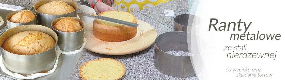 baner ranty metalowe do ciast