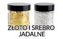 złoto i srebro jadalne