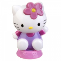 Figurka HELLO KITTY na tort 7cm - fioletowa