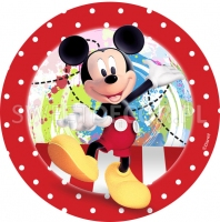 Opłatek na tort Mickey Mouse - 50318900C - 21 cm