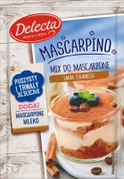 Mascarpino - Delecta - Mix do mascarpone - smak Tiramisu