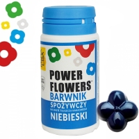 5df850d53e1e43 MONA LISA Barwnik Flower Power NIEBIESKI - 10 szt (10g)